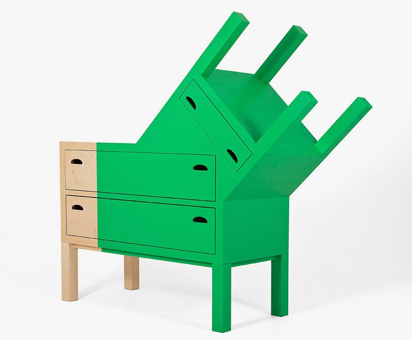 Ana Jimenez turns masks of mexico into furniture pieces